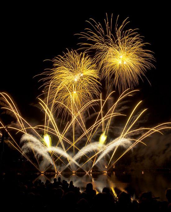 Royal Pyrotechnie - Fête du Lac des Nations 2013