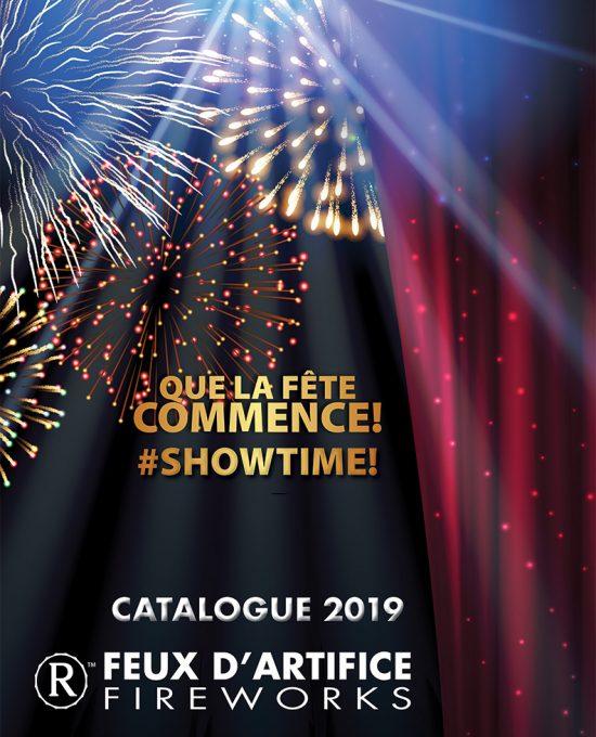 catalogue de produit de feux d'artifice grand public 2019 - Royal Pyrotechnie