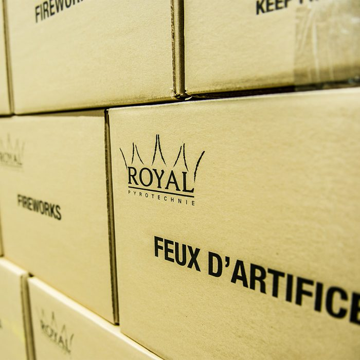 Royal Pyrotechnie - Produits professionnels