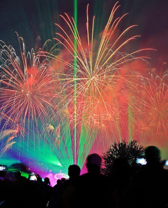 Royal Pyrotechnie - Osisko en lumière