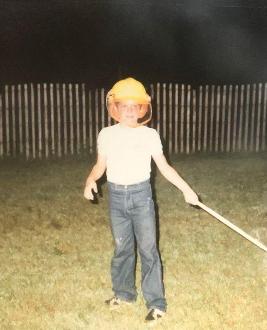 Yanick Roy à 9 ans - Histoire de Royal Pyrotechnie